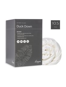 Linea Duck Down duvet 10.5  tog