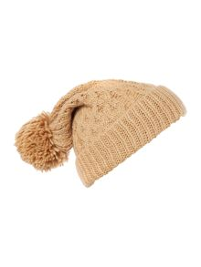 Polo Ralph Lauren Cable knit pom pom hat