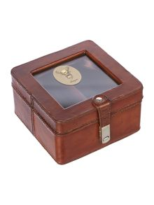 Linea Leather Watch Box