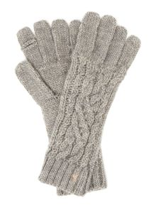 Polo Ralph Lauren Cable knit gloves