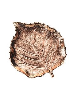 Leaf jewellery tray