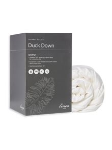 Linea Duck down 13.5 tog as duvet