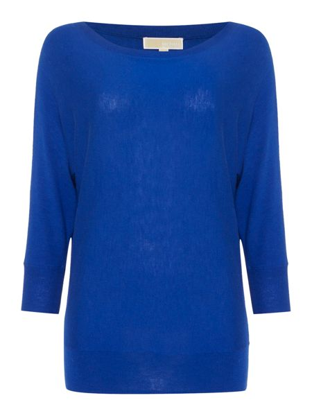Michael Kors 3/4 Sleeve Round Neck Jumper