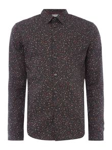 Linea Denis Mini Floral Print Shirt
