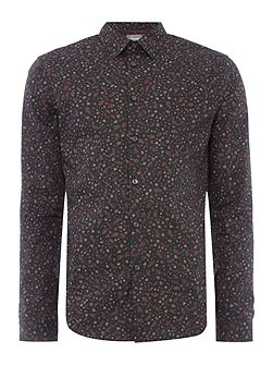 Denis Mini Floral Print Shirt