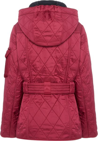 Barbour Girls Viper Quilted Jacket