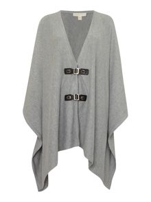 Michael Kors Buckle Front Border Cardigan