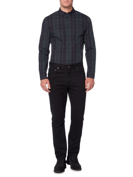 Linea Crossier Large Tartan Check Shirt