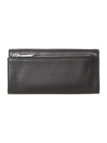 DKNY Tribeca black large flap over purse