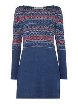 Angela Fairisle Tunic Dress