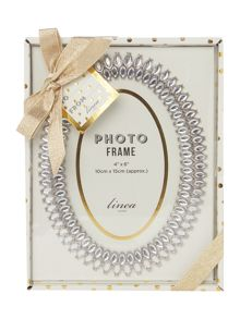 Linea Diamante oval Frame 4x6