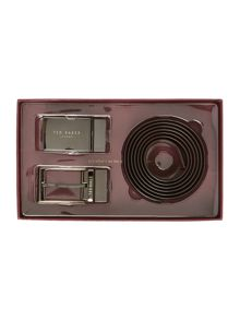 Ted Baker Hoffman Reversible 4 Way Belt Gift Set