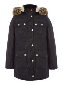 Barbour Girls Carribena Wax Jacket