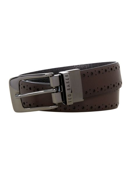 Ted Baker Bush Brogue Detail Belt
