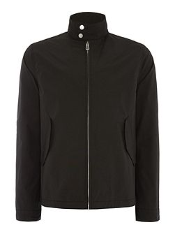 Showerproof zip through harrington jacket