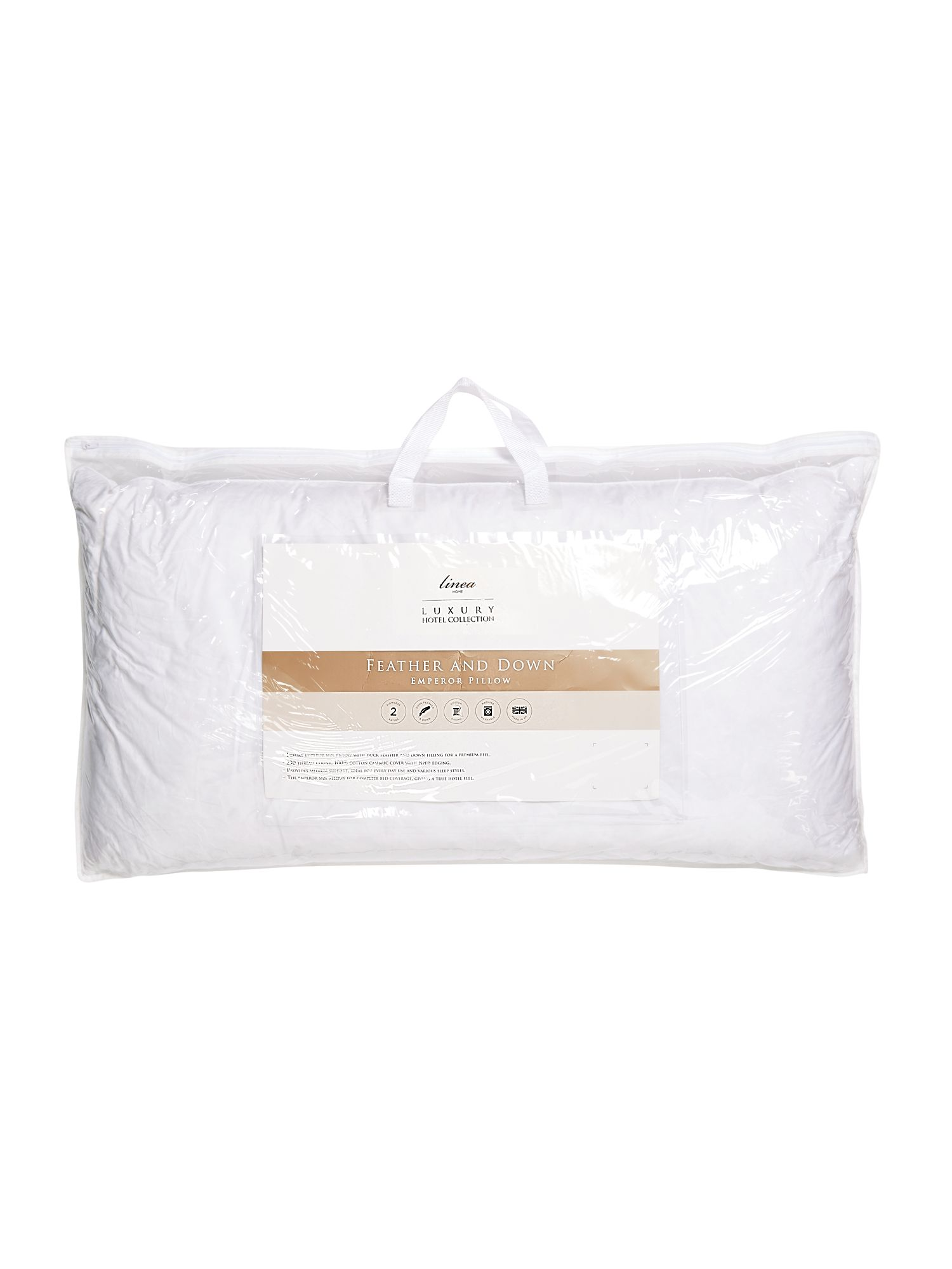Luxury hotel collection emperor pillow feather and octer for Luxury hotel collection