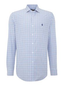 Polo Ralph Lauren Check Custom Fit Long Sleeve Shirt