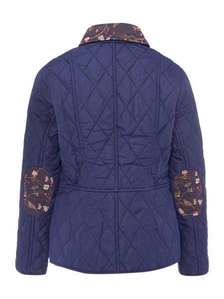 Barbour Girls Pansy Quilt Jacket