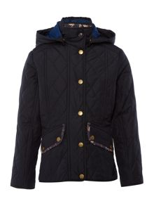 Barbour Girls Impeller Quilt Jacket