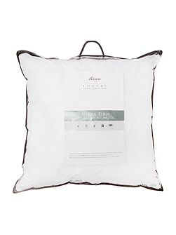 Ultra firm square pillow