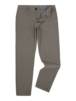 Tapered fit chino trousers