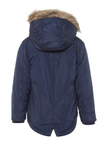 Howick Junior Boys Faux Fur Trim Parka