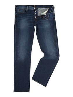 Standard regular fit dark wash jeans