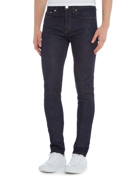 PS By Paul Smith Slim fit dark rinse jeans