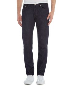 PS By Paul Smith Tapered fit dark rinse jeans