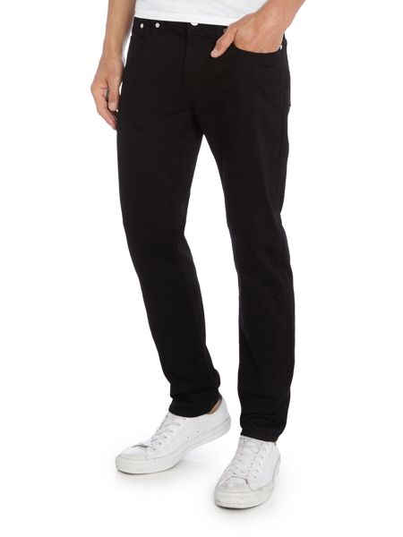 PS By Paul Smith Tapered fit black jeans