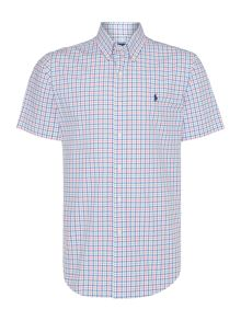 Polo Ralph Lauren Custom Fit Short Sleeve Poplin Check