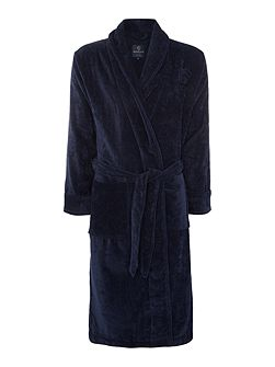 Classic Navy Towelling Robe