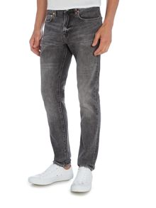 PS By Paul Smith Slim fit light wash grey jeans