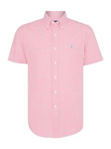 Polo Ralph Lauren Custom Fit Short Sleeve Seersucker Gingham