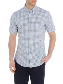 Polo Ralph Lauren Short sleeve slim fit poplin check