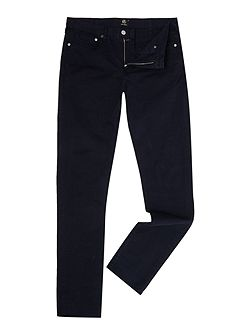 Slim fit 5 pocket cotton chino trousers