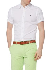 Polo Ralph Lauren Short sleeve slim fit seersucker shirt