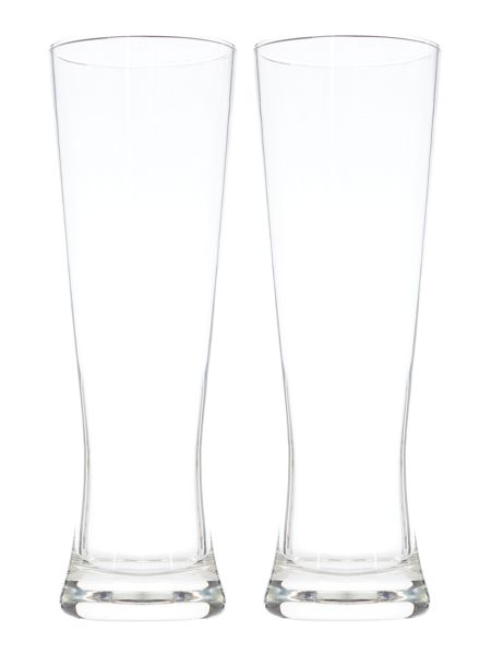 Linea Tall lager glass set of 2
