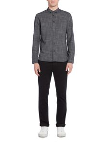 Criminal Alban Mini Grid LS Shirt