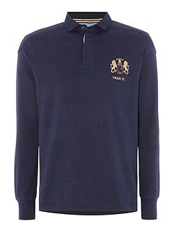 Signature Long Sleeve Rugby Shirt