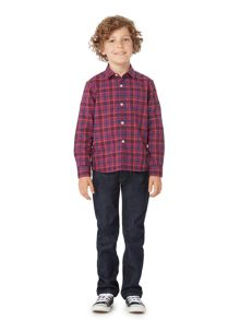 Howick Junior Boys Smart Checked Shirt