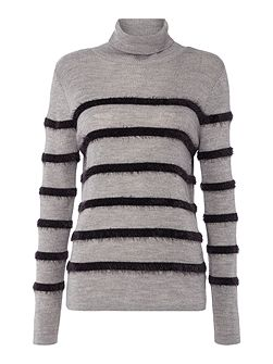 Lexi Fluff Stripe Knit Jumper