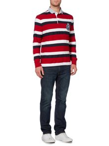 Howick Richmond Stripe Long Sleeve Rugby Shirt