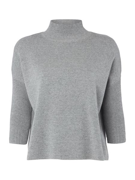 Therapy Esme Roll Neck Boxy Knit Jumper
