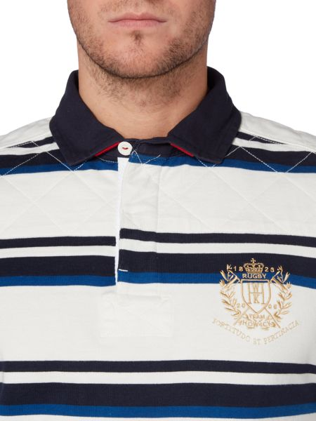 Howick Active Stripe Long Sleeve Rugby Shirt