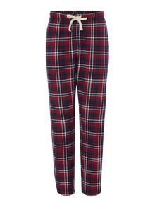 Howick Red check flannel pant