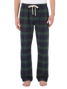 Howick Black watch tartan flannel pant