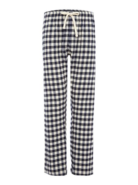 Howick Gingham check flannel pant