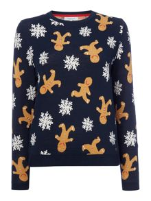 Dickins & Jones Grace The Gingerbread Christmas Jumper