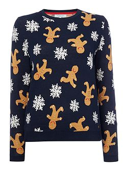 Grace The Gingerbread Christmas Jumper